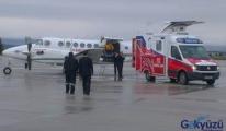 Hava Ambulansı Oğuzhan'ın hayatını kurtardı