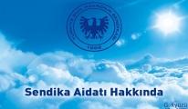 Hava-İş Sendikası üyelik aidatı alınmaması açıklaması