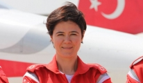 Hava Pilot Binbaşı Özatay, ilk gösterisini Samsun'da yaptı.