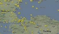 Hava trafiği hızlandı 18 saniyede bir uçak