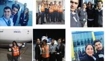 Havacılık öğrencilerine iş sınavı