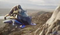 Havada 241 km/s Hız Yapabilen Uçan Motosiklet!