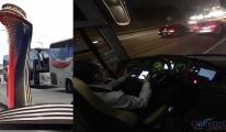 HAVAİST şoförü kazaya davetiye çıkarıyor!