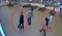 Havalimanı'nda 2 yolcunun midesinden eroin çıktı #video