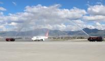 Erzurumspor Havalimanı'nda Coşkuyla Karşılandılar
