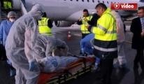 Havalimanı'nda ebola virüsü paniği video