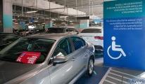 Havalimanı'nda Engelli yerine park eden bir saygısız!