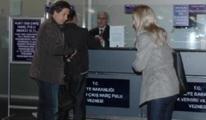 Havalimanı'nda Harç Pulu İçin  Kuyruk oldular..