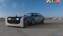 Havalimanı'nda robot vale!video