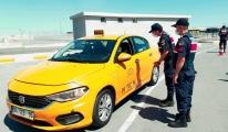Havalimanı'nda taksicilere koronavirüs denetimi (video)