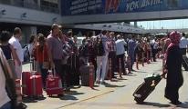 Havalimanı Taksicileri İsyan Ettirdi