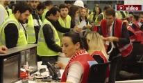 3. Havalimanı'ndaki deneme başarıyla gerçekleşti!video
