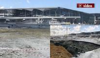 video 3.Havalimanında Apron Çöktü! Resmi Açıklama!