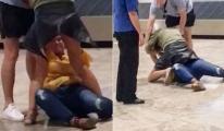 Havalimanında büyük kavga