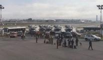 Havalimanı'nda Hareketli Dakikalar