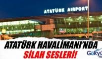Havalimanında silahlı saldırgan paniği