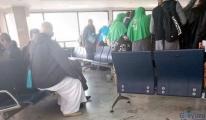 Havalimanı'nda Uçuşlar geçici olarak durduruldu!