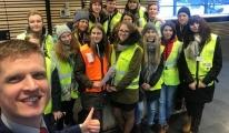 Havaş Letonya'da gençleri ağırladı!