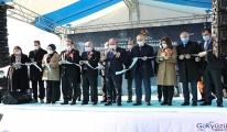 Hayrabolu-Tekirdağ yolunun 1'inci etebı açıldı(video)