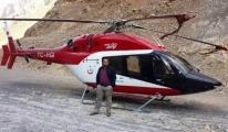Helikopter Karayoluna İndi