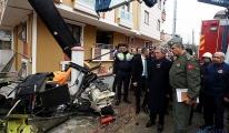Helikopter kazası: 1 şehit 4 yaralı!