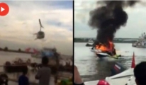 Helikopter Kazası Saniye Saniye Kaydedildi