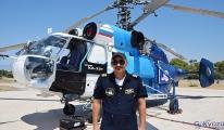 Helikopteri pilotu:Önce vatan diyerek çalışıyoruz (video)