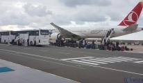 Hollanda'dan 312 vatandaş Ordu- Giresun Havalimanı'nda