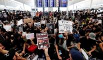 Hong Kong'daki protestoların havacılık ekonomisinde faturası büyüyor