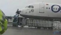 Hortumda hasar gören Onur Air uçağı uçamayacak!