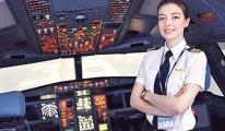 Hostesi Şebnem Çağdaş, ikinci pilot oldu
