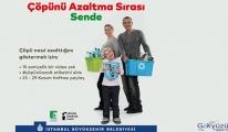İBB Atık azaltımı için kampanya başlattı