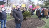 İBB önünde protesto