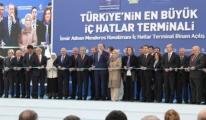 İç Hatlar Terminali Başbakan Erdoğan Tarafından Açıldı