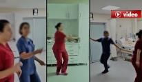 İki  Hemşire Yoğun Bakımda Göbek Attı! video