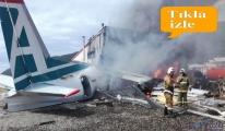 iki pilot hayatını kaybetti 22 yolcu yaralandı!video