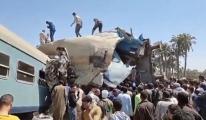 İki tren çarpıştı: 32 ölü, 66 yaralı(video)