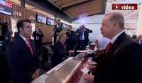İlk biniş kartını Cumhurbaşkanı Erdoğan aldı!