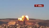 İlk görüntülerle Afrin harekatı video