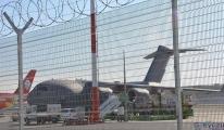 İngiliz askeri kargo uçağı  İstanbul Havalimanı'nda