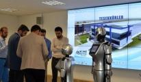 İnsansı robotlar 3. Havalimanı için görücüye çıktı!