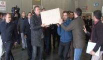 Hostesin Cenazesi Havalimanından Alındı