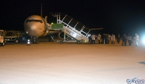 Irak'ta çalışan 334 işçi Türkiye'ye getirildi
