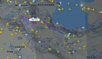 İran seferler iptal; Uçaklar geri dönüyor