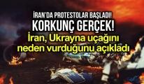 İran, Ukrayna yolcu uçağını neden vurduğunu açıkladı!