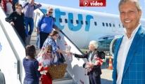 İskandinav Turist Kafilesi Antalya'da