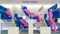 İspanyol öğrencinin uçak koltuğu tasarımı