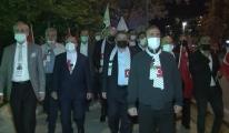 İsrail Büyükelçiliği önünde 'Kudüs' protestosu