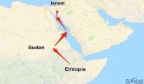 İsrail'e ait bir uçak, Sudan hava sahasını kullandı.