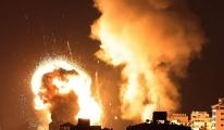 İsrail savaş uçakları Gazze'yi vuruyor#video